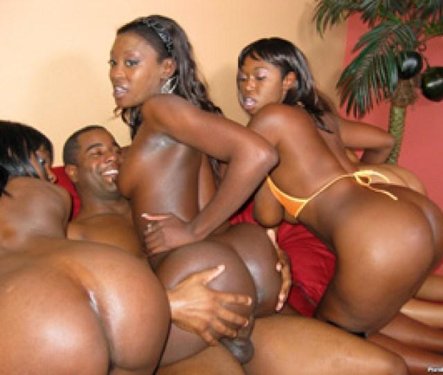 Big Fat Ass Booty Group Sex  C2 B7 Thick Ebony Bubble Butt Sluts Fucked