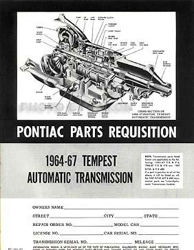 19641972 GTO & Tempest Parts IDInterchange Manual 2 Book Set