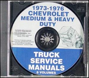 19741975 Chevrolet and GMC Medium Duty Cowl Wiring Diagram C5000 C6000 C50 C60