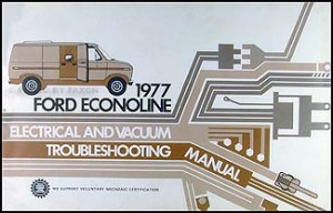 1977 Ford Truck Service Specifications Manual Original