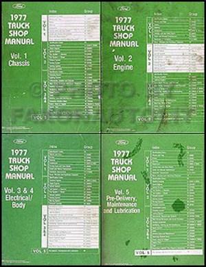 1977 Ford LSeries Foldout Wiring Diagram L800 L900 L8000