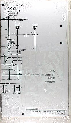 1984 Jeep Cherokee & Wagoneer Original Wiring Diagram