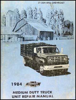 1984 Chevy Medium Truck Overhaul Manual Engine