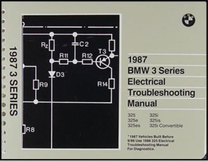 1987 BMW 3Series Electrical Troubleshooting Manual