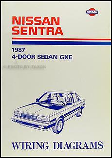 1987 Nissan Sentra Wiring Diagram Manual Original