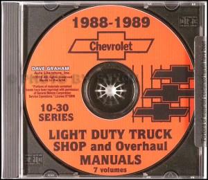 1988 Chevrolet and GMC C and K 15003500 Pickup Parts Book Original Cheyenne Sierra