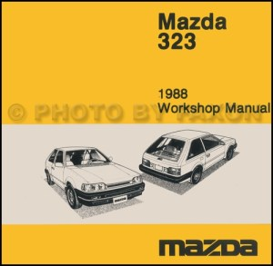 1988 Mazda 323 Hatchback and Sedan Wiring Diagram Manual