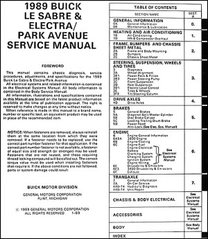 Service manual [Manual Repair Engine For A 1997 Buick Park Avenue]  1993 Volvo 940 Service