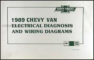 1989 Chevy G Van Wiring Diagram Manual G10 G20 G30