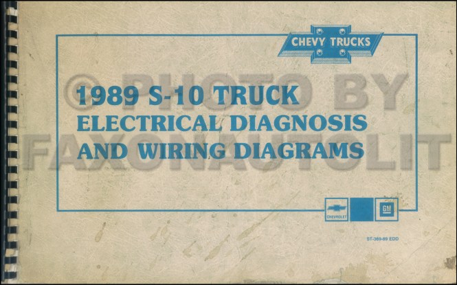 Chevy Truck Wiring Diagram Manual