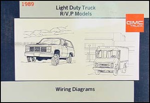 1989 GMC P Chassis Wiring Diagram Original Motorhome Step