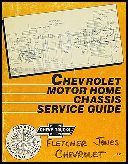 1990 Chevy PChassis Wiring Diagram Original Motorhome