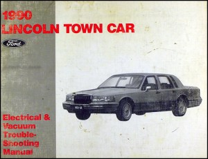 1990 Ford Lincoln Mercury RWD Car Service Specifications
