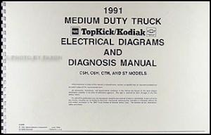 1991 GMC Chevy Topkick Kodiak Caterpiller 3116 Diesel