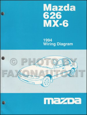 1994 Mazda 626 and MX6 Body Electrical Troubleshooting