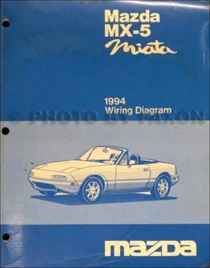 1994 Mazda MX5Miata Electrical Wiring Diagram Original