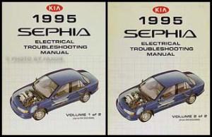 1995 Kia Sephia Wiring Diagram Manual Original