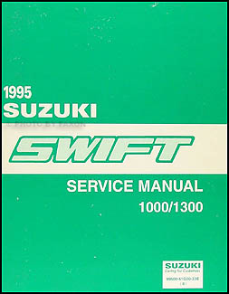 1995 Suzuki Swift Wiring Diagram Manual Original