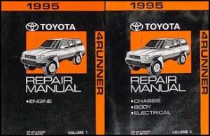 1995 Toyota 4Runner Wiring Diagram Manual Original