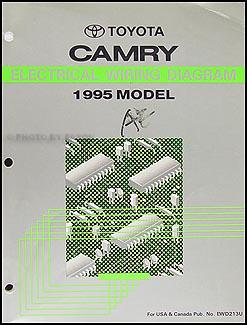 1995 Toyota Camry Wiring Diagram Manual Original