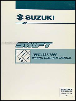 19961998 Suzuki Swift Wiring Diagram Manual Original