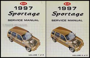 1997 Kia Sportage Electrical Troubleshooting & Vacuum