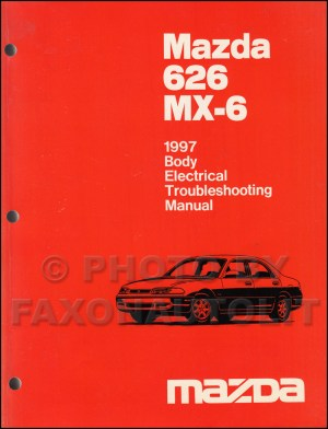 1997 Mazda 626 and MX6 Body Electrical Troubleshooting