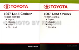 1997 Toyota Land Cruiser Wiring Diagram Manual Original