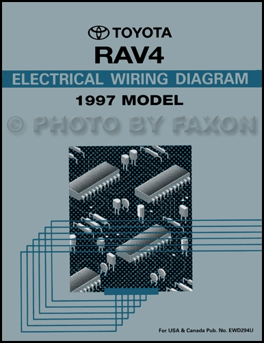 Toyota Rav4 Wiring Diagram Manual Original