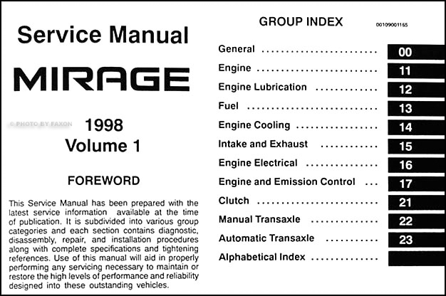 1997 mitsubishi mirage radio wiring diagram
