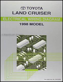 1998 Toyota Land Cruiser Wiring Diagram Manual Original