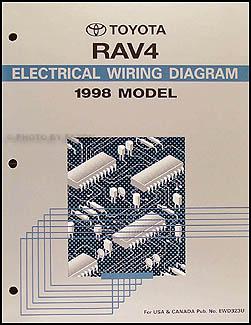 1998 Toyota RAV4 Air Conditioner Installation Manual Original
