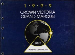 1999 Ford Crown Victoria Mercury Grand Marquis Wiring