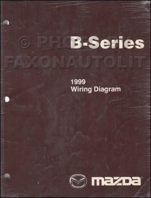 1999 Mazda B4000 B3000 B2500 Pickup Truck Wiring Diagram