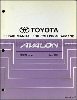 2000 Toyota Avalon Wiring Diagram Manual Original
