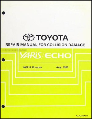 20002005 Toyota Echo Body Collision Repair Shop Manual