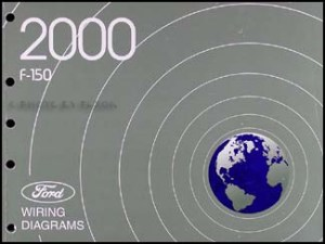 2000 Ford F150 Repair Shop Manual 2 Volume Set Original