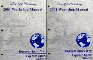 2001 Ford Explorer and Sport Trac Repair Manual Set | eBay