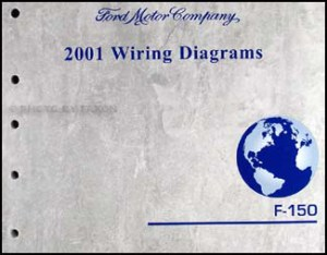 2001 Ford F150 Wiring Diagram Manual Original