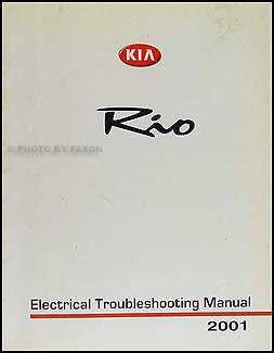 2001 Kia Rio Electrical Troubleshooting Manual Wiring