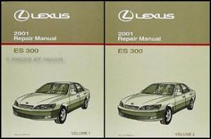 2001 Lexus ES 300 Wiring Diagram Manual Original