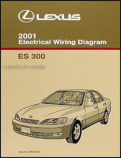 2001 Lexus ES 300 Wiring Diagram Manual NEW Original