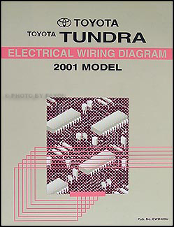 2001 Toyota Tundra Repair Shop Manual Original 2 Volume Set