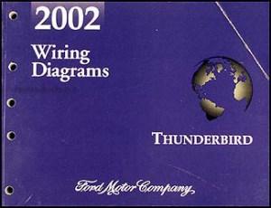 2002 Ford Thunderbird Wiring Diagram Manual Original