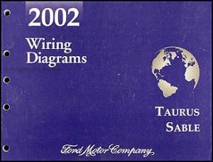 2002 Ford Taurus & Mercury Sable Wiring Diagram Manual