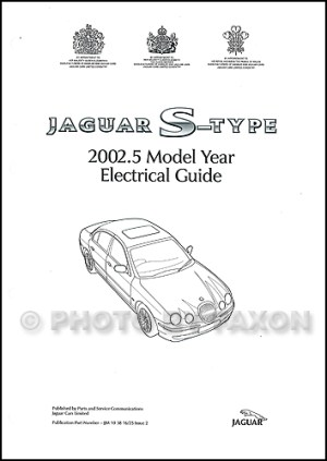 2002 Jaguar SType Electrical Guide Wiring Diagram