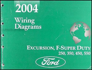 2004 Ford Excursion Super Duty F250550 Wiring Diagram
