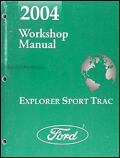 2004 Ford Explorer Sport Trac Wiring Diagram Manual Original