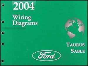 2004 Ford Taurus & Mercury Sable Wiring Diagrams Manual
