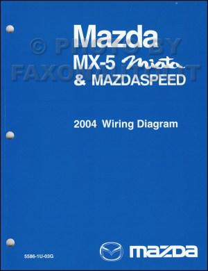 2004 Mazda MX5 Miata Mazdaspeed Wiring Diagram Manual